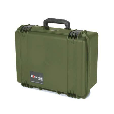 Pelican Storm iM Case Watertight Padlockable Case Multilayer Cubed Foam Interior Olive Drab 141 - 12