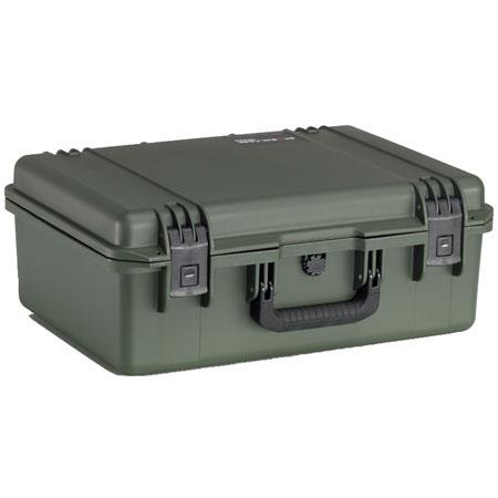 Pelican Storm iM Case Watertight Padlockable Case Padded Dividers Olive Drab 206 - 521