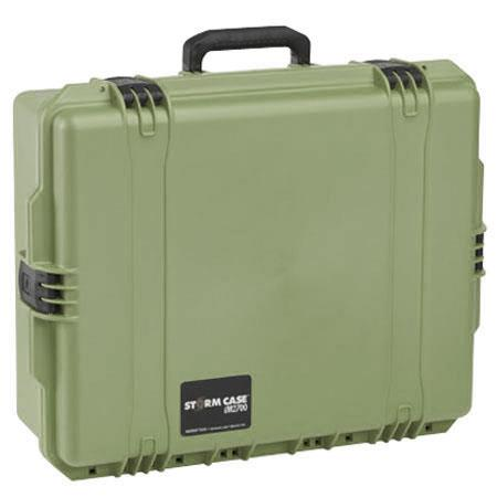 Pelican Storm iM Case Watertight Padlockable Case Padded Divider Interior Olive Drab 101 - 314