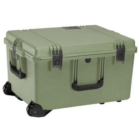Pelican Storm iM Case Wheels Watertight Padlockable Case Padded Divider Interior Olive Drab 118 - 8