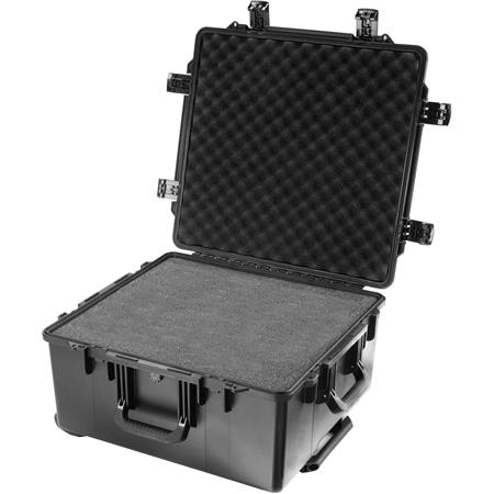 Pelican Storm iM Case Wheels Watertight Padlockable Case Multilayer Cubed Foam Interior  69 - 323