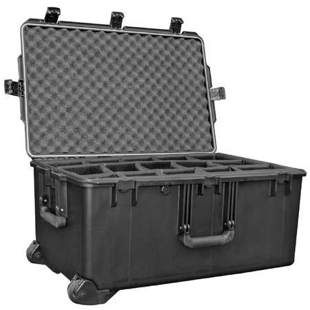 Pelican Storm iM Case Wheels Watertight Padlockable Case Padded Divider Interior  285 - 288