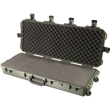 Pelican Storm iM Case Wheels Firearms up to Watertight Padlockable Case Multilayer Solid Foam Interi 206 - 521