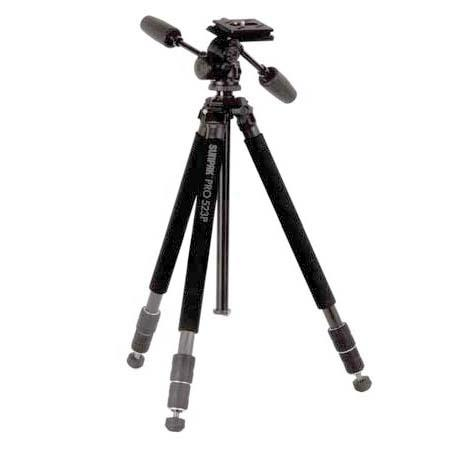 Sunpak Pro Carbon Fiber Tripod Way PhotoVideo Panhead Quick Release Supports lbs 129 - 65