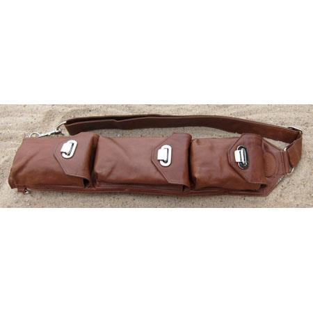 Sucaro Smooth Tan Leather Freedom Strap Drop Lock Closures 32 - 404