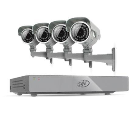 SVAT Electronics CH Smart Security DVR Ultra Hi res Outdoor Night Vision Cameras IR Cut Filter GB HD 300 - 5