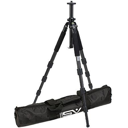 Smith Victor CF Carbon Fiber Tripod Legs case Supports lbs MaHeight  330 - 184