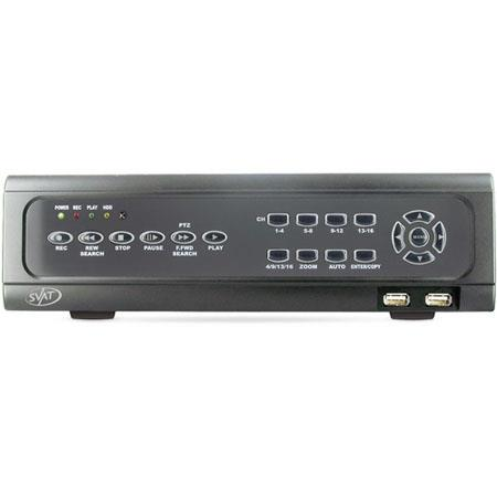 SVAT Electronics CV CH X Web Ready Channel H DVR Security System iPhone andBerry Access 78 - 653