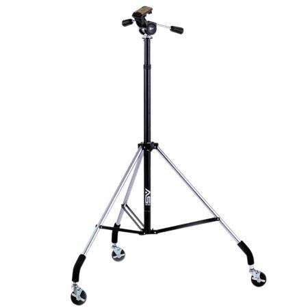 Smith Victor Dollypod IV Wheeled Tripod Pro Three way Head 77 - 509