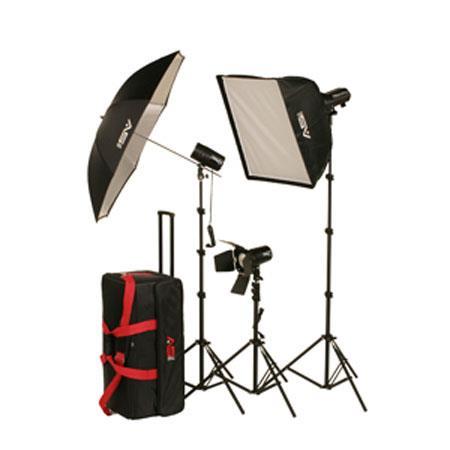 Smith Victor FLK Strobe Light Kit FLC Ws FlashLite Strobe Lightin Soft Box 60 - 561