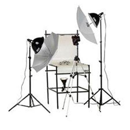 Smith Victor TST P Light Watt Photoflood Shooting Table Kit 57 - 718