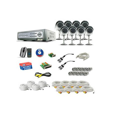 SVAT Electronics CV CH Web Ready Ch H DVR Security System iPhone Berry Access InOutdoor Hi Res CCD N 40 - 512