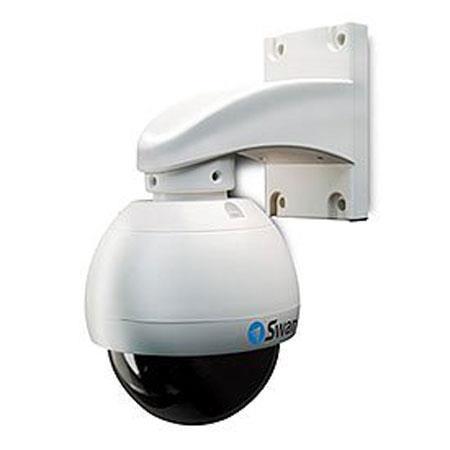 Swann PRO PTZ Dome Camera TVL andOptical Zoom Sony Effio CCD Image Sensor Lens 81 - 358