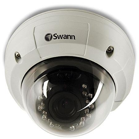 Swann PRO Ultimate Optical Zoom Dome Camera Color Sony Effio CCD Image Sensor TV Lines Video Quality 122 - 671