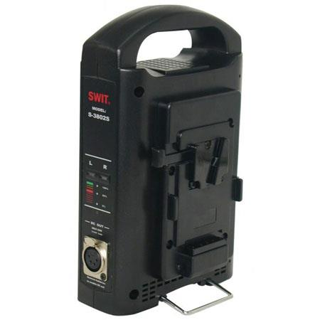 SWIT Channel ChargerAC Adaptor V lock Mount Battery 129 - 336