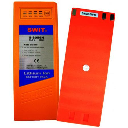 SWIT Pro Video Rechargeable Li ion Battery NP Mount WH 122 - 161