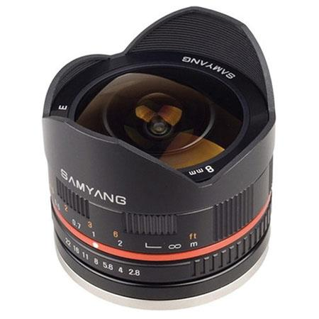 Samyang f UMC Ultra Wide Angle Fish eye Lens Sony E mount 72 - 615