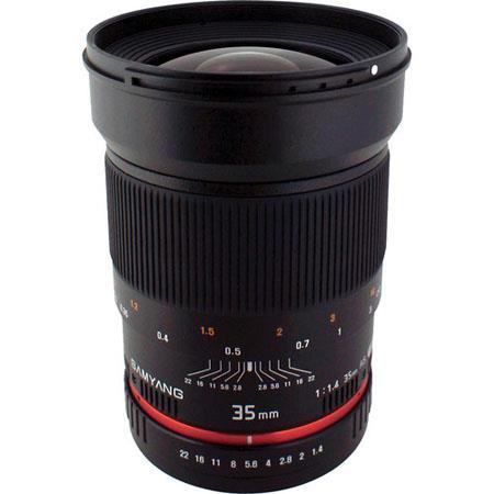 Samyang f Wide Angle US UMC Aspherical Lens Canon 51 - 393