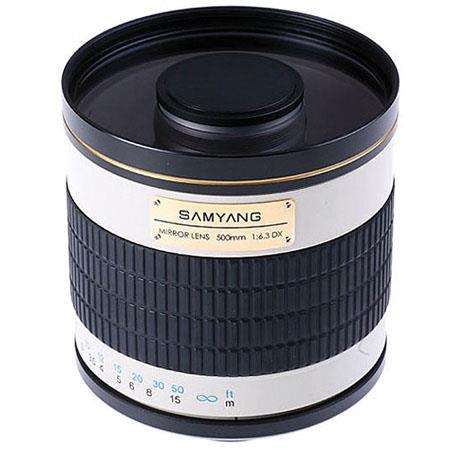 Samyang f Mirror Lens T mount Camera deg Angle of View  85 - 43