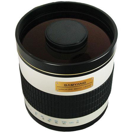 Samyang f Mirror T Mount Lens f Aperture  90 - 737
