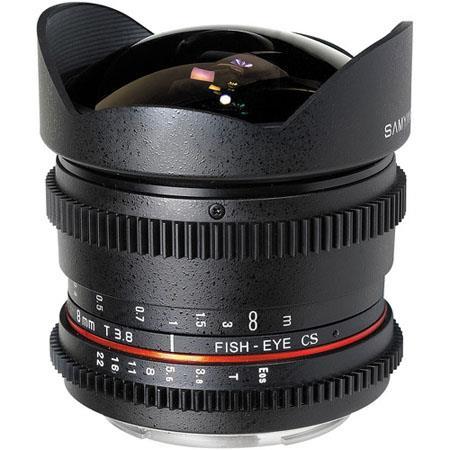 Samyang t Fisheye Cine Lens Canon 383 - 18