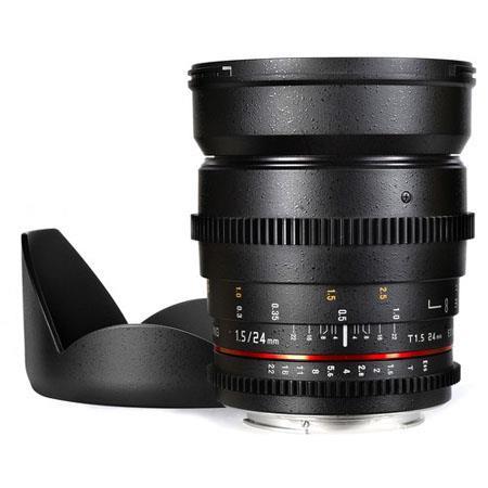 Samyang T Cine Lens Canon EF Mount 133 - 158