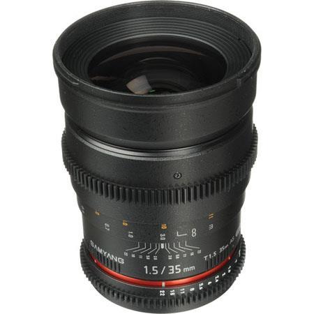 Samyang T Cine Wide Angle Lens Canon Video EOS DSLR Cameras 56 - 686