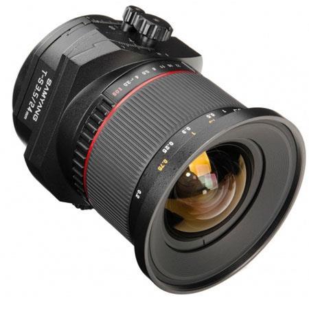 Samyang f ED AS UMC Tilt Shift Lens Canon 60 - 677