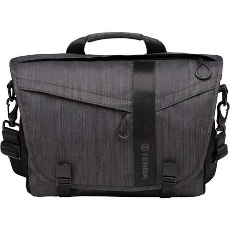 Tenba DNA Messenger Bag Holds DSLR Camera Lenses and iPad TabletLaptop Up to Graphite 50 - 516