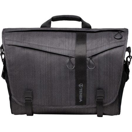 Tenba DNA Messenger Bag Holds DSLR Camera Lenses and Laptop Up to iPadSimilar Sized Tablet Graphite 230 - 241