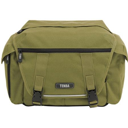 Tenba Lightweight Messenger Camera Bag Olive DSLR Bodies Lenses Flash and Accessories 48 - 733