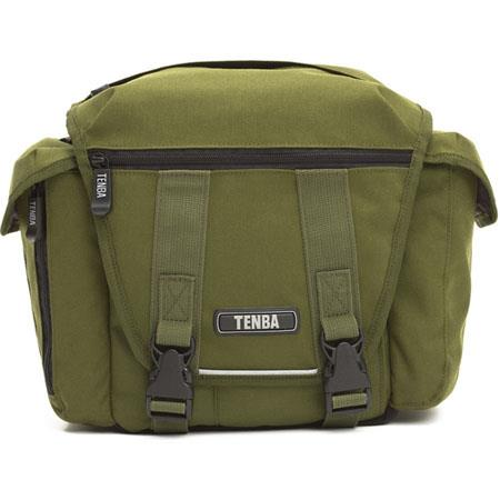 Tenba Messenger Small Camera Bag SLR Camera Body Lens Kit Olive 97 - 632