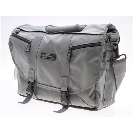 Tenba ProDigital Small Messenger Satchel Fits Laptops Small Camera System Platinum  216 - 798