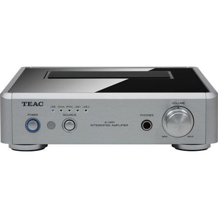 TEAC Stereo Pre Main Amplifier DA Converter Silver 314 - 4