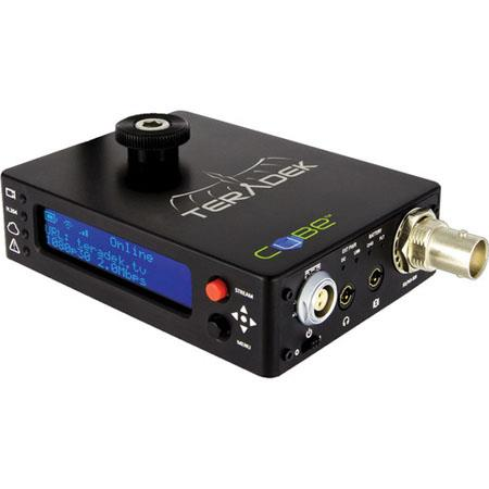 Teradek Cube Channel HD SDI Video Decoder OLED Display External USB Port and Ethernet 52 - 746