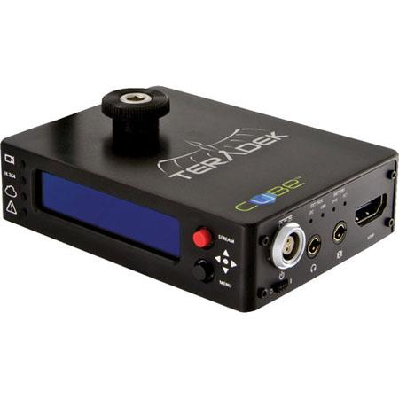 Teradek Cube Channel HDMI Video Decoder OLED Display BASE T Ethernet and External USB Port 56 - 772