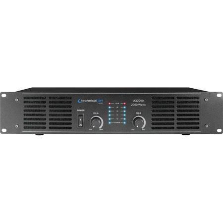 Technical Pro AX U Professional Channel Power Amplifier  250 - 53