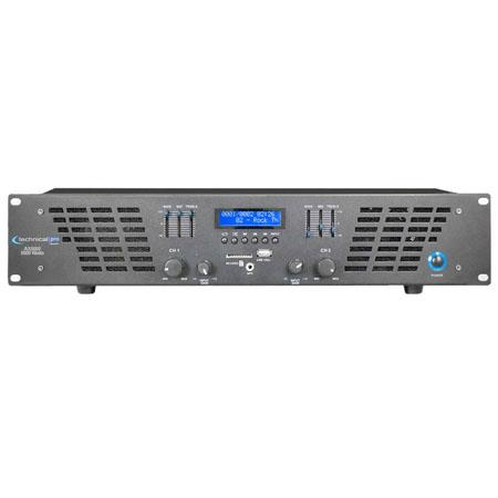 Technical Pro AX U Professional CH Power Amplifier 71 - 300