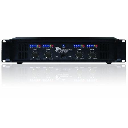 Technical Pro Professional CH Power Amplifier V W Peak Power  203 - 511