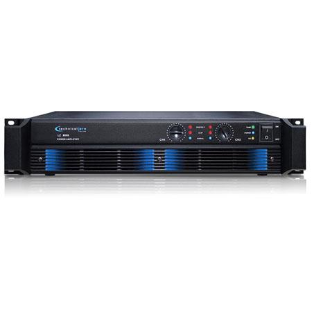 Technical Pro LZ Professional Power Amplifier W Peak Power Hz kHz Frequency Response kohm Input Impe 17 - 403