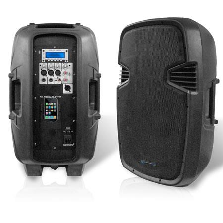 Technical Pro PWU ABS Molded Two Way Active Loudspeaker USB SD Card Inputs Watts Peak Power 233 - 731