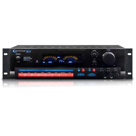 Technical Pro RX Receiver Digital Spectrum Bundle Technical Pro SPH Book Shelf Speakers Pair and Tec 169 - 196
