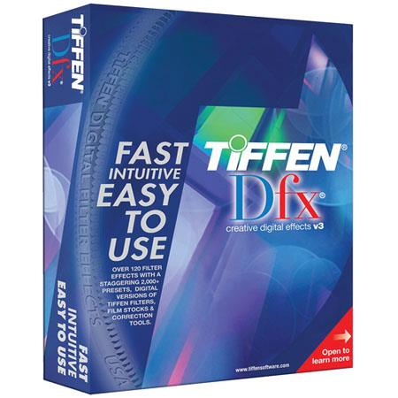 Tiffen DFX VideoFilm Filter Plug In Version Compatible Macs and PCs or Bit Image Processing Individu 67 - 430