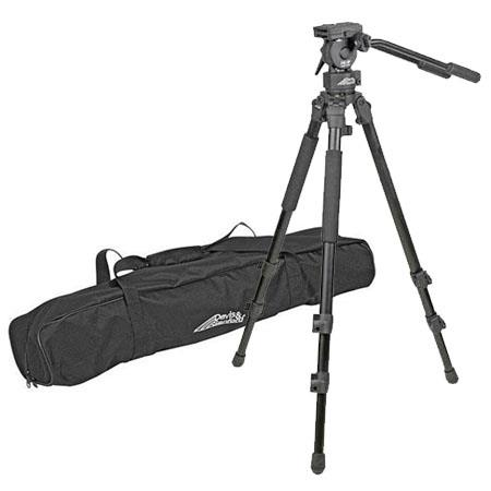 Tiffen Provista Grounder Video Tripod FM way Head Ball Leveler Multi Positional Legs Supports lbs Ma 129 - 412