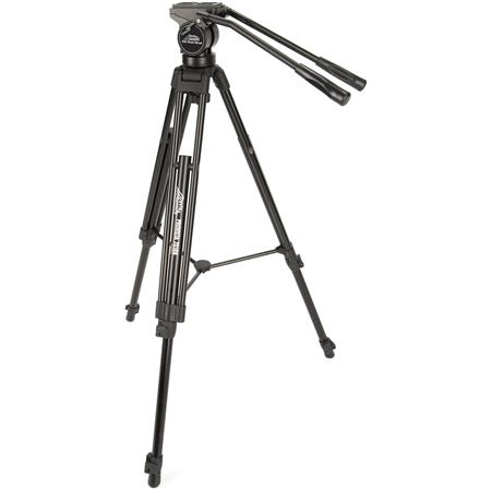 Davis Sanford ProVista Tripod and Head Video Tripod FM Fluid Head Head Supports up to lbs Tripods lb 66 - 593