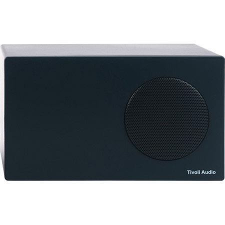 Tivoli Albergo Stereo Speaker Radio RCA Connection Graphite 89 - 16
