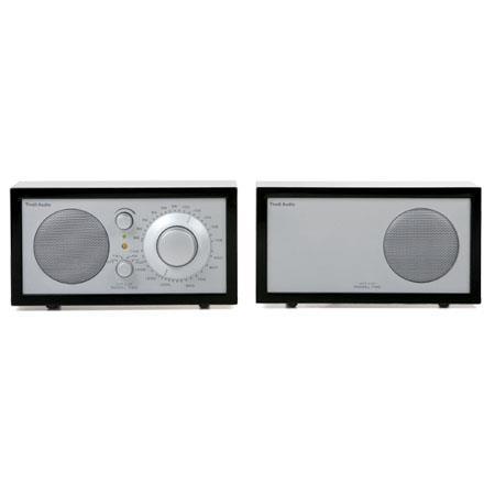Tivoli Audio Platinum Series Model Two MPIANO AMFM Stereo Table Radio PianoSilver 163 - 758