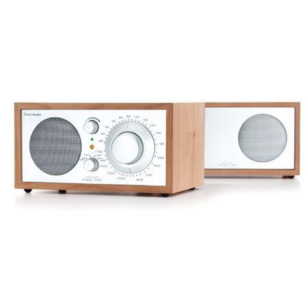 Tivoli Audio Model Two Stereo MSLC AMFM Table Radio Silver 314 - 4