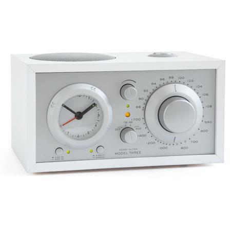 Tivoli Audio Model Three MWHT AMFM Clock Radio Silver 314 - 4