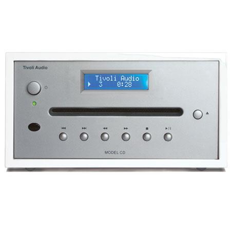 Tivoli Audio Model CD MCDWSB Player FrostSilver 163 - 758